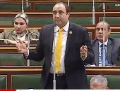 النائب خالد فهمى يطالب المصريين بالوقوف مع الجيش والشرطة ضد الإرهاب