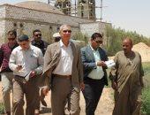 مدير أمن المنيا يصل مستشفى ملوى العام بعد استشهاد معاون المباحث