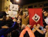 بالصور.. تواصل المظاهرات لليوم الثامن فى مدينة الحسيمة شمال المغرب