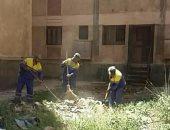 بالصور.. الإسكندرية تستعد لتسكين 21 أسرة من ضحايا عقار  الأزاريطة بالعامرية