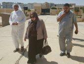 وكيل وزارة التربية والتعليم بشمال سيناء تتفقد لجان واستراحات الثانوية العامة