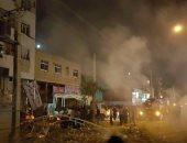 شاهد.. الصور الأولى لانفجار مدينة شيراز الإيرانية