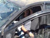 إصابة 5 أشخاص فى حادث تصادم سيارتين بمحور كورنيش النيل أمام ماسبيرو
