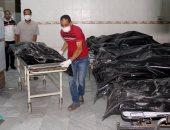 بالصور..العثور على جثث مهاجرين ماتوا خنقا داخل مبرد سيارة فى طرابس
