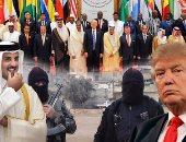 صحف أمريكية: ترامب ينسب لنفسه الفضل فى قرار الدول العربية بمقاطعة قطر