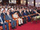 الرئاسة: السيسى وجه بعدم السماح بالتعدى على حرم النيل أو المصارف أو الترع