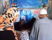 بالصور.. صحة بورسعيد : الكشف علي 671 مريضا بقرية المناصرة