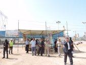 بالصور.. مدير أمن كفر الشيخ يتفقد الخدمات الأمنية بمحطة كهرباء البرلس