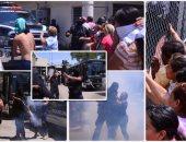 بعد مقتل 3 أشخاص.. شرطة المكسيك تنقل المحبوسين لسجن آخر وتشتبك مع ذويهم