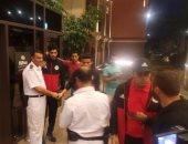 بالصور.. المنتخب المصرى يستعد لمغادرة الفندق للسفر إلى تونس