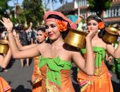 بالصور.. إندونيسيا تحتفل بالدورة 39 لمهرجان بالى للفنون