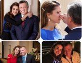 فى ذكرى عيد زواجهما.. 15 صورة تلخص قصة حب الملكة رانيا والملك عبدالله