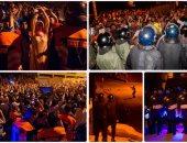 اشتباكات بين متظاهرين والشرطة المغربية ضمن الاحتجاجات الشعبية شمال البلاد