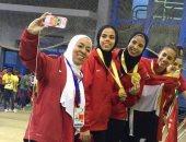 سيدات الشيش يحققون ذهبية البطولة الأفريقية للسلاح