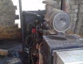 السيطرة على حريق بمولد كهربائى فى القليوبية بسبب ماس بطفايات الحريق