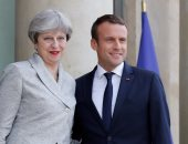 انطلاق قمة فرنسية بريطانية بين ماكرون وماى