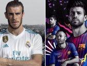 الكلاسيكو.. التشكيل الرسمى لريال مدريد وبرشلونة فى كأس الأبطال
