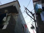 هلاك الأجهزة الكهربائية بسبب ضعف التيار بنجع ياسين فى سوهاج