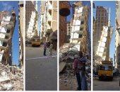 """حى وسط الإسكندرية: بيع أرض عقار """"الأزاريطة المائل"""" حال عدم سداد تكلفة الهدم"""