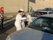 بالصور.. الداخلية توزع وجبات إفطار للصائمين بالمجان فى شوارع القاهرة