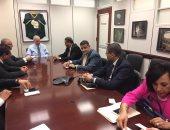 الوفد المصرى بواشنطن يلتقى رئيس لجنة الأمن الداخلى بمجلس الشيوخ