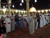بالفيديو..بث مباشر لصلاة التراويح فى ليلة السابع والعشرين من جامع عمرو بن العاص