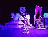 """بالصور.. عرض مسرحية """"أطلال روميو وجوليت"""" على خشبة ثقافة الزقازيق"""