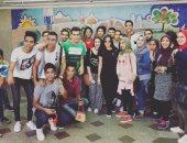 ساندى تنشر صورة من داخل مستشفى أطفال أبو الريش