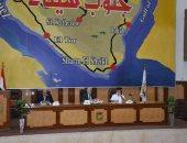 محافظ جنوب سيناء يحذر من التعدى على أراضى الدولة بالمجلس التنفيذى