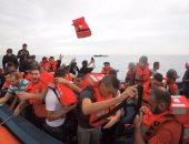 إنقاذ 151 مهاجرًا فى البحر المتوسط وإعادتهم إلى ليبيا