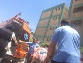 مصرع أمين شرطة وإصابة 3 مجندين فى انقلاب سيارة للداخلية بأسوان