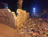 بالصور.. القمامة تحاصر شوارع قرية طحا بالمنيا ومناشدة للمسئولين بسرعة إزالتها