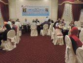 مديرية أمن الغربية تنظم حفل إفطار جماعى لأسر الشهداء