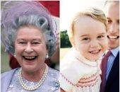 بالصور.. كيف يشبه الأمير جورج كل أفراد العائلة المالكة من ديانا لإليزابيث؟