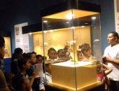 شاهد بالصورة.. قطعة شهر سبتمبر الأثرية فى متحف ملوى