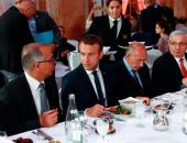 بالصور.. الرئيس الفرنسى يشارك المسلمين فى حفل إفطار بباريس
