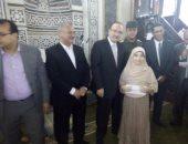 بالصور .. محافظ بنى سويف يكرم  60 من حفظة القرآن الكريم و الأئمة و الدعاة