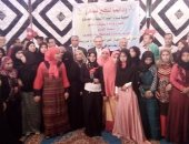 بالصور.. محافظ بنى سويف يوزع 50 جهاز عروس على غير القادرات