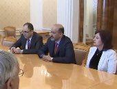 رئيس تيار الغد السورى المعارض يبحث مع لافروف سبل حل الأزمة السورية