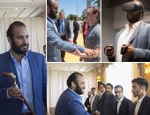 """15 صورة لولى العهد السعودى محمد بن سلمان """"بالبدلة"""".. أبرزها لقاؤه بزوكربيرج"""