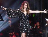 من ازياء المشاهير.. فستان نانسى عجرم بمهرجان الأشرفية يخالف توقعات الجمهور