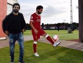 بالصور.. كيف احتفل ليفربول بصفقة محمد صلاح؟