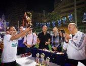 بالفيديو والصور..حديد المصريين يتوج بطلا لدورة اليوم السابع وإعلام المصريين