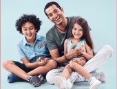 """عمرو سعد مع أولاده """"يارو ورابى"""": الحبايب كلهم"""