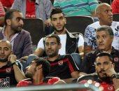 بالصور.. أزارو يحضر احتفالية استلام الأهلى درع الدوري أمام إنبى