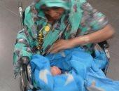 راكبة تشادية تضع مولودها على رحلة بنجامينا قبل هبوطها بمطار القاهرة