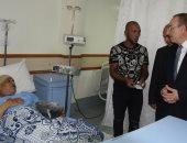 بالصور.. محافظ بنى سويف يزور مرضى المستشفى العام ويتفقد مرفق الإسعاف والمخابز