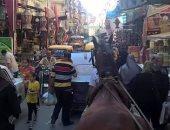 فوضى التكاتك مشكلة تزعج أهالى شارع الزهور فى محافظة الإسكندرية