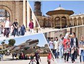 وزارة الداخلية تنظم رحلة ترفيهية للأطفال الأيتام فى القلعة