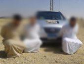 الجيش الثالث الميدانى يضبط 6 مشتبه بهم فى وسط سيناء